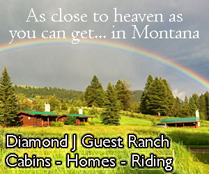 Diamond J Ranch, Cabins & Rental Homes : Discover the jewel of the Diamond J, off the beaten path, yet close to area attractions. Offering horseback riding, swimming, tennis, hiking and private fishing on our own pond. For accommodations, select from your own private cabin or rental home on the property.